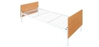 Кровать односпальная со спинками из ЛДСП
