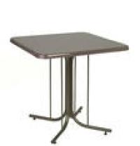 Стол с квадратной столешницей и подстольем «Паук»